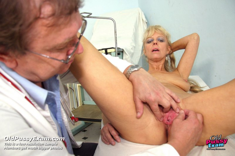 Sam gyno pussy proper examination by older doctor 5