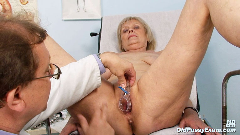 granny anal check up