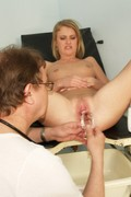 Slim Teen Ckate Pussy Speculum Gyno Examination - Picture 13
