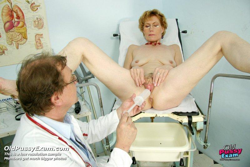старые пенсионерки у гинеколога порно все